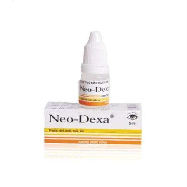 Thuốc Neo - Dexa 17.000IU Dexamethason điều trị các nhiễm khuẩn ở tai, mắt, da