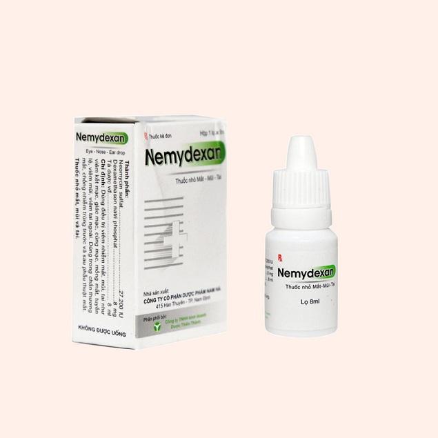 Thuốc Nemydexan điều trị các triệu chứng khó chịu do viêm xoang, viêm mũi dị ứng, viêm kết mạc mắt
