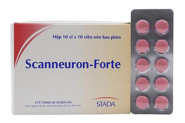 Thuốc Scanneuron-Forte bổ sung vitamin B1, B6, B12