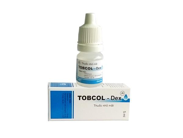 Thuốc Tobcol - Dex điều trị triệu chứng viêm mắt