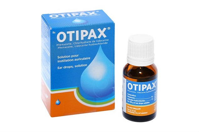 Thuốc Otipax 15ml điều trị đau tai