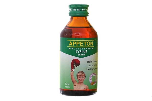 Thuốc Appeton Multivitamin Lysine Syrup bổ sung acid amin, vitamin cho trẻ em