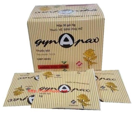 Thuốc Gynapax 5g vệ sinh hàng ngày vùng kín phụ nữ hay nam giới