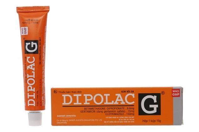 Thuốc Dipolac G điều trị nhiễm khuẩn da