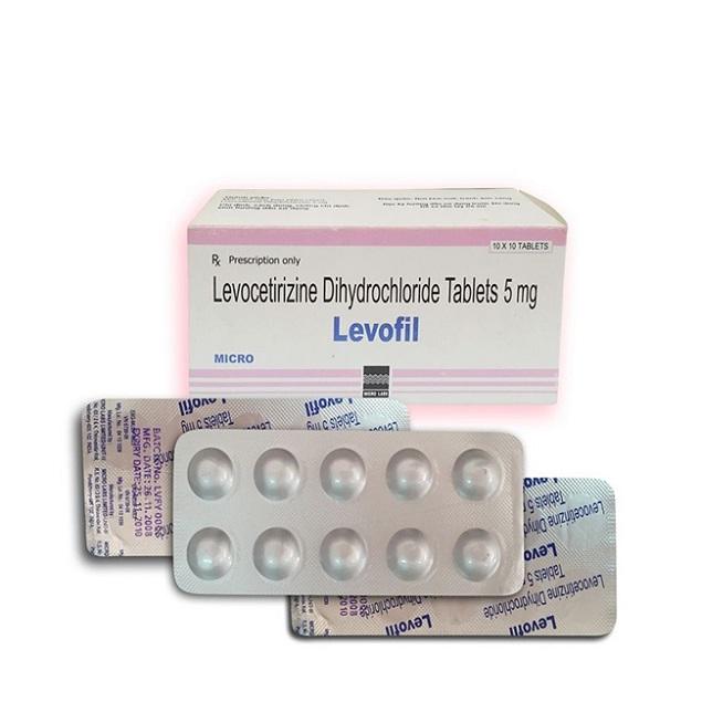 Thuốc Levocozate F.C. Tablets 5mg Levocetirizin dihydroclorid điều trị các trường hợp dị ứng