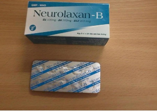 Thuốc Neurolaxan - B bổ sung vitamin và khoáng chất