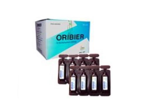 Thuốc Oribier 200mg/8ml N-Acetylcystein hỗ trợ điều trị trong các trường hợp viêm đường hô hấp kèm dịch đờm nhày