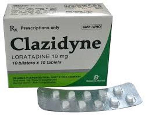 Thuốc Clazidyne 10mg Loratadine điều trị viêm mũi dị ứng