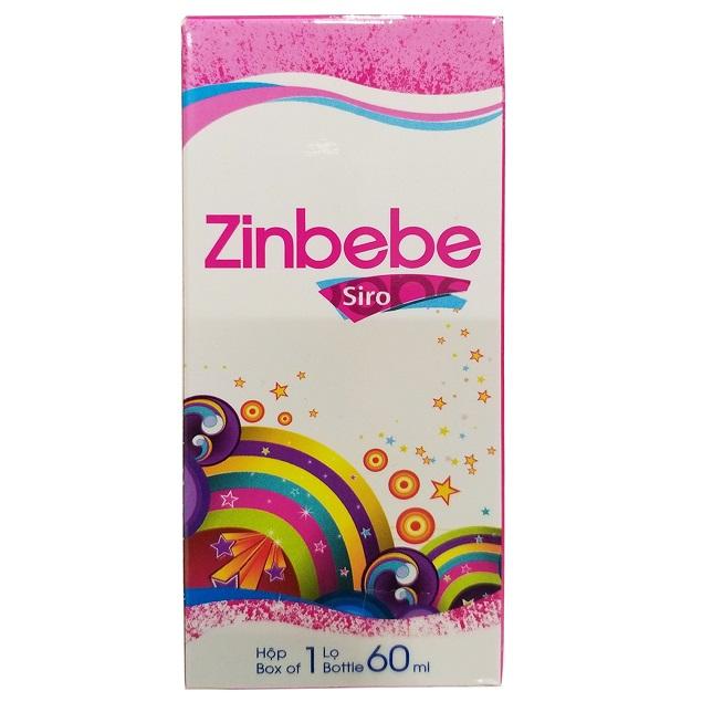Thuốc Zinbebe dự phòng và điều trị còi xương, suy dinh dưỡng do thiếu kẽm