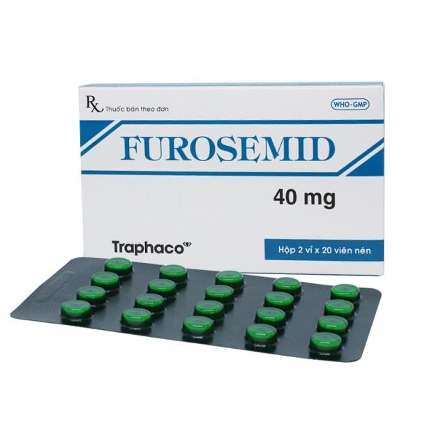 Thuốc Furocemid 20mg/2ml Furosemide điều trị các bệnh về tim mạch như tăng huyết áp, phù, thiểu niệu