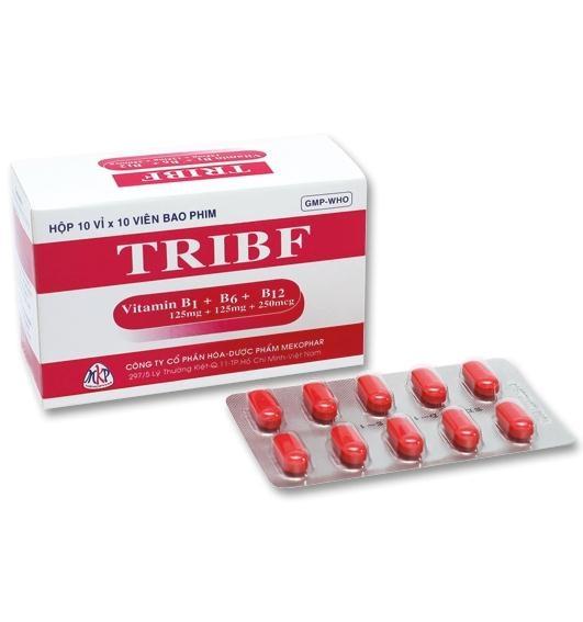 Thuốc Tribf thuốc cung cấp và bổ sung vitamin nhóm B