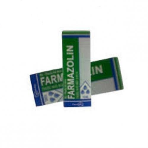 Thuốc Farmazolin 10ml Xylometazoline hydrochloride chống dị ứng
