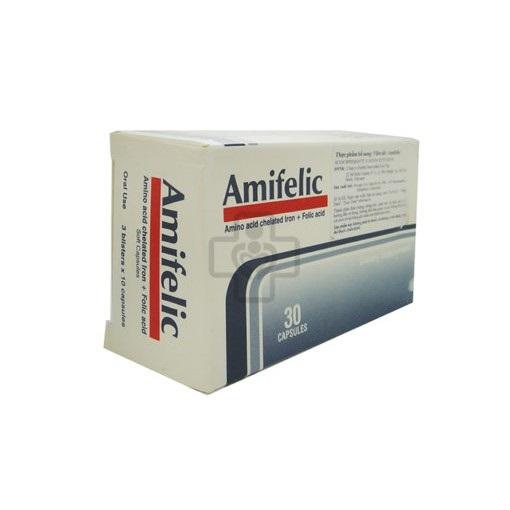 Thuốc Amifelic giúp bổ sung sắt và Acid Folic
