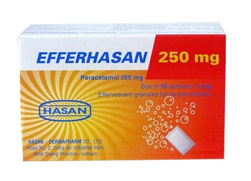 Thuốc Efferhasan-C hạ sốt, giảm đau