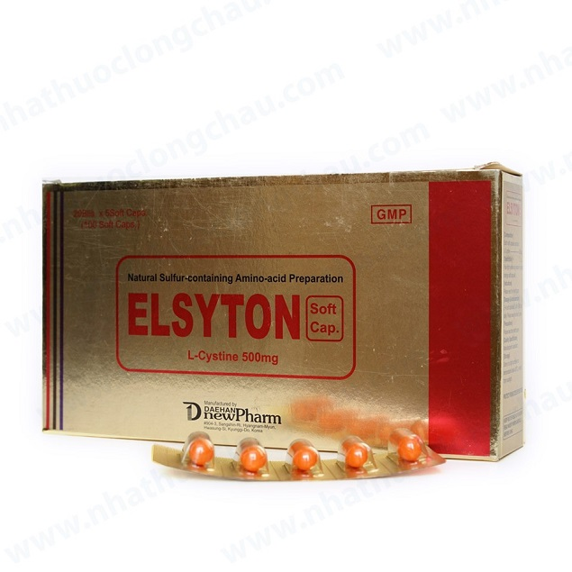 Thuốc Elsyton soft cap 500mg L-Cystine cải thiện các vấn đề da liễu