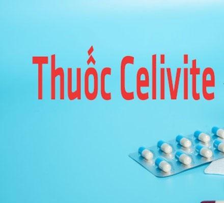 Thuốc Celivite bổ sung vitamin và khoáng chất
