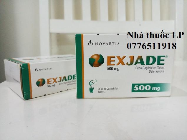 Thuốc Exjade 250mg 500mg Deferasirox điều trị quá tải sắt mãn tính (3)