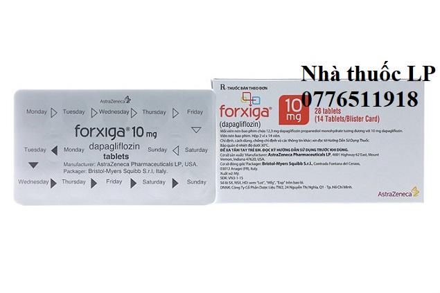 Thuốc Forxiga 10mg Dapagliflozin điều trị đái tháo đường (4)