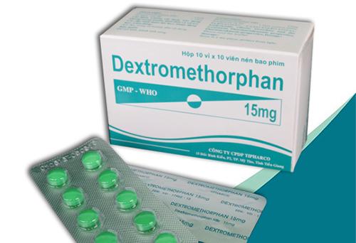 Thuốc Dextromethorphan 15mg điều trị ho khan gây khó chịu