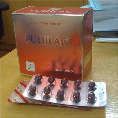 Thuốc Fudilac điều trị hoặc ngăn ngừa tình trạng thiếu chất sắt trong máu