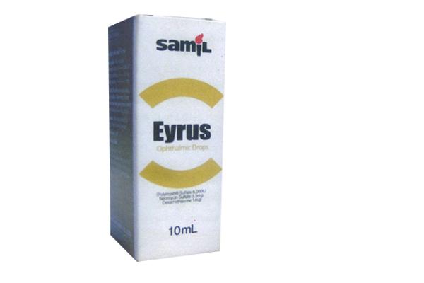 Thuốc Eyrus Ophthalmic Drops điều trị viêm kết mạc, viêm bờ mi