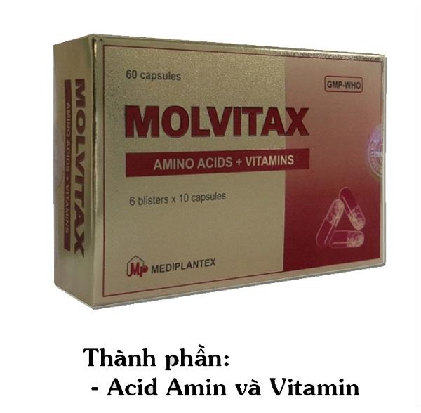 Thuốc Molvitax thuốc cung cấp dinh dưỡng và vitamin