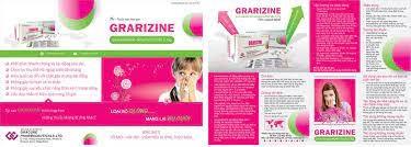 Thuốc Grarizine 5mg Levocetirizine dihydrochloride điều trị ho không đờm, mạn tính