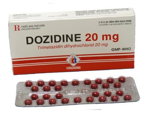 Thuốc Vosfarel 20mg Trimetazidine dihydrochloride chống đau thắt ngực