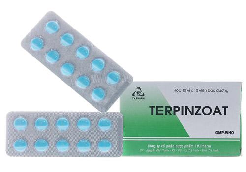 Thuốc Terpinzoat điều trị ho, làm long đàm