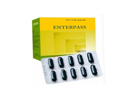 Thuốc Enterpass trị đầy hơi, khó tiêu