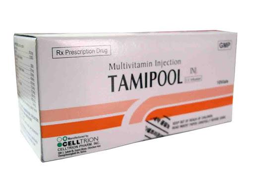 Thuốc Tamipool Injection cung cấp và bổ sung vitamin