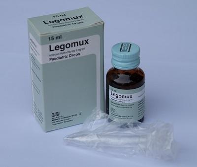 Thuốc Legomux 6mg/ml Ambroxol Hydrochloride tiêu chất nhầy đường hô hấp