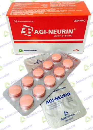 Thuốc Agi- neurin dự phòng và điều trị thiếu Vitamin nhóm B