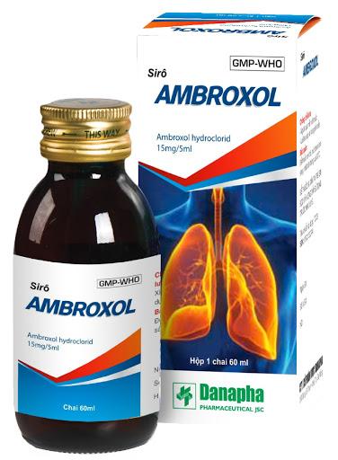 Thuốc Droply 15mg/5ml Ambroxol HCl tiêu chất nhầy đường hô hấp