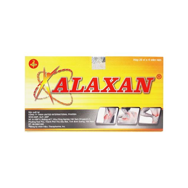 Thuốc Alaxan giảm đau, hạ sốt, kháng viêm
