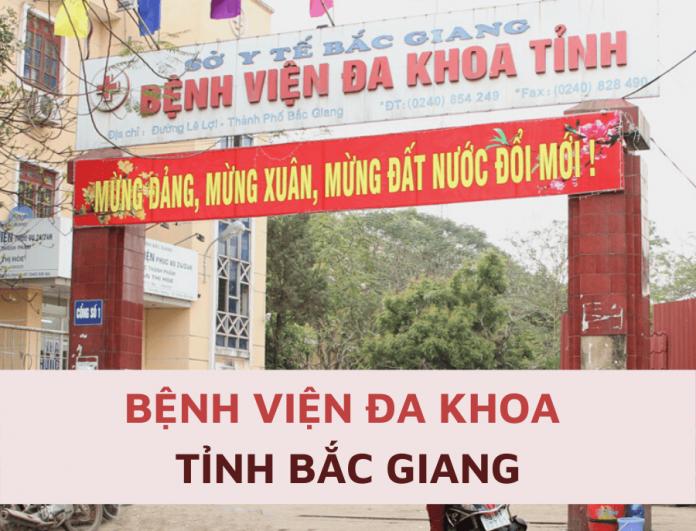 Bảng giá dịch vụ Bệnh viện Đa khoa Bắc Giang