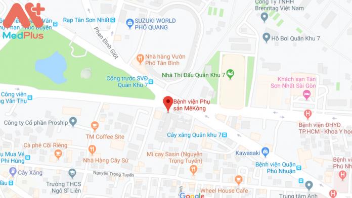 Địa chỉ Bệnh viện Phụ Sản Mê Kông