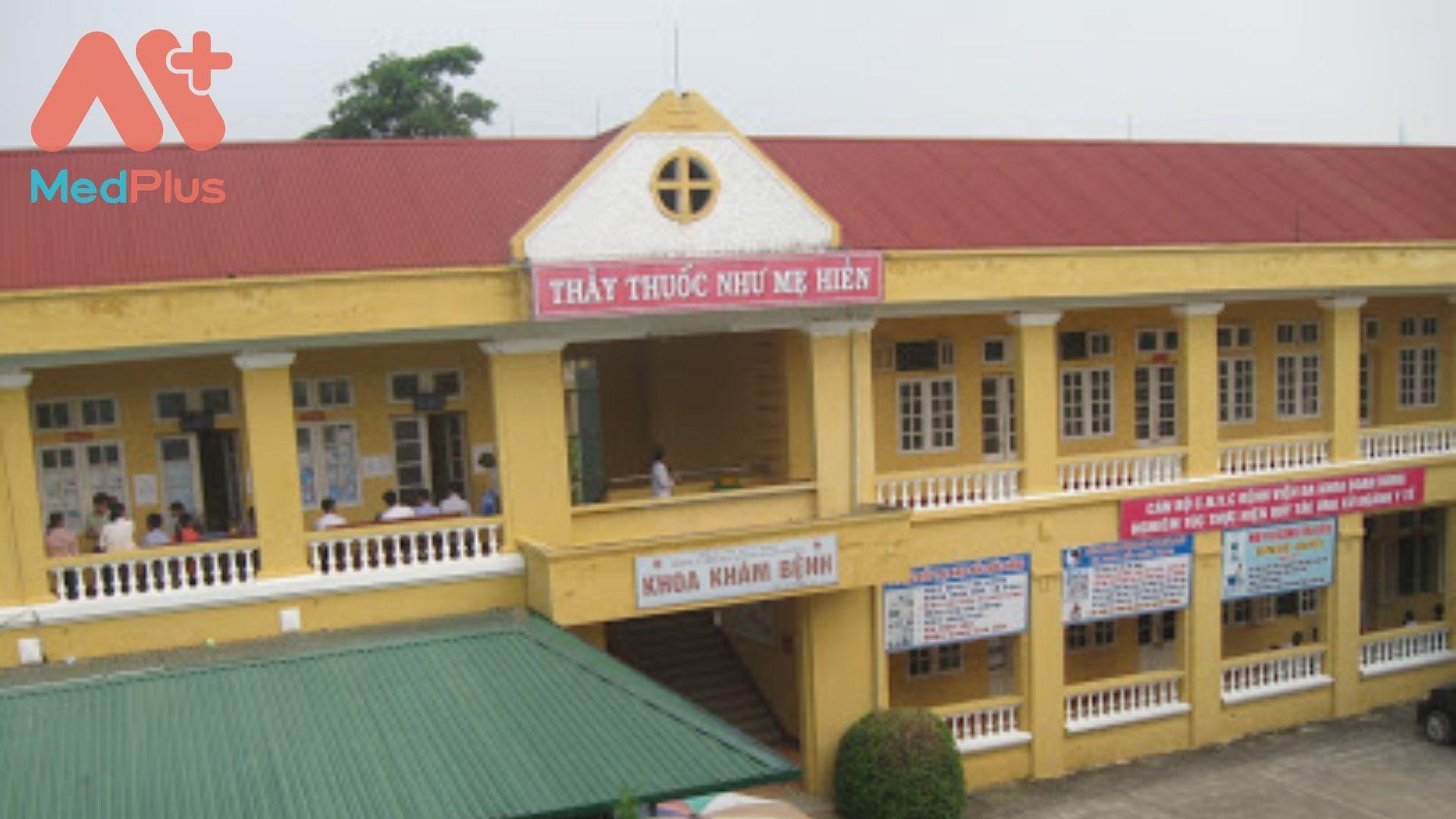 Trung tâm y tế huyện Đoan Hùng
