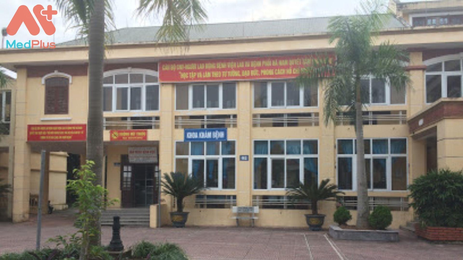 Bệnh viện Lao Phổi Hà Nam