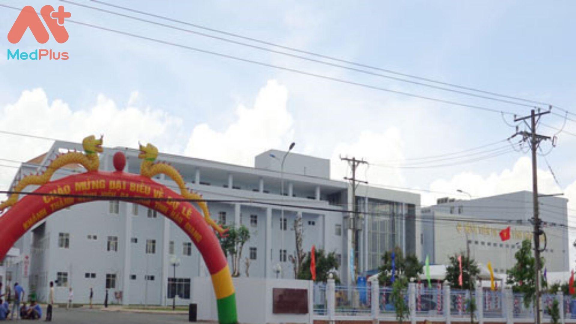 Bệnh viện đa khoa tỉnh Hậu Giang
