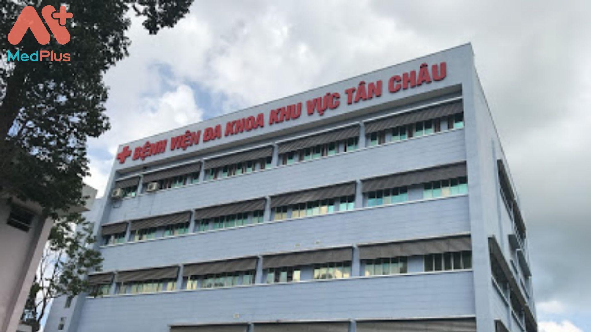 Bệnh viện Đa khoa khu vực huyên Tân Châu