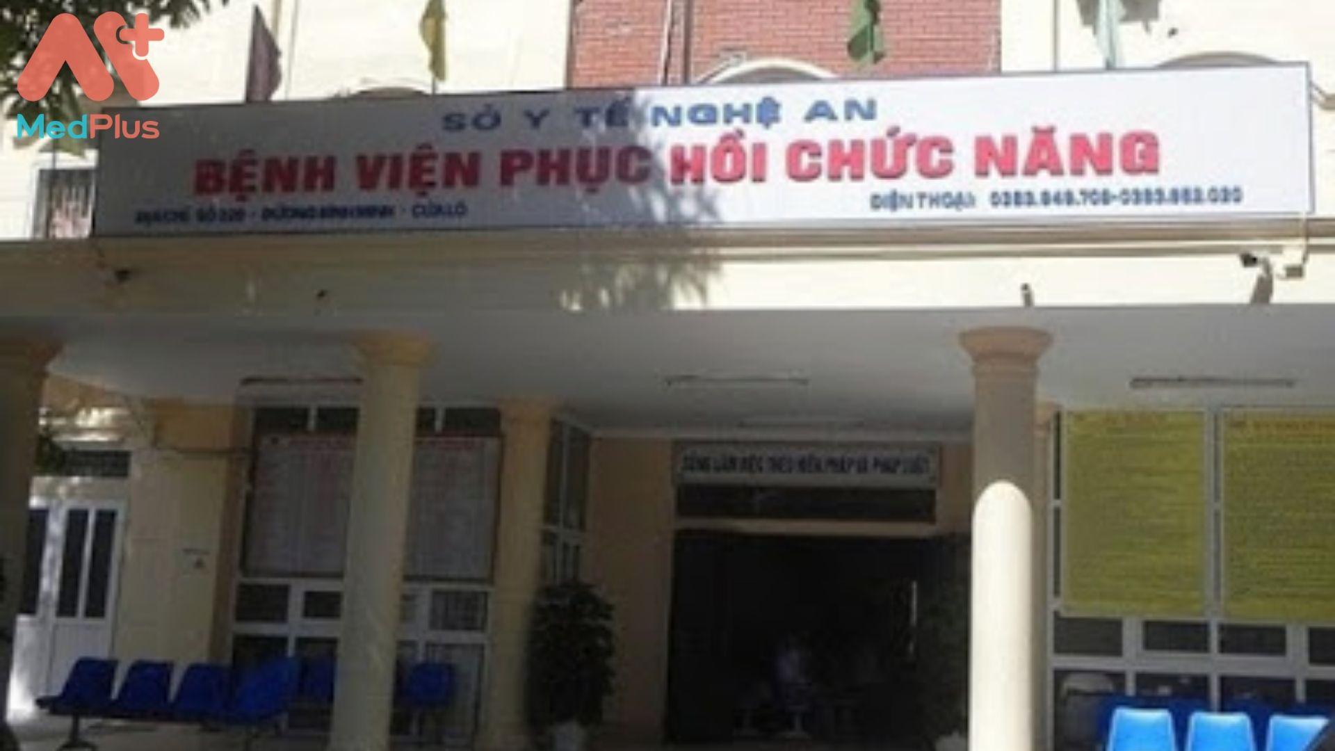 Bệnh viện Điều dưỡng và phục hồi chức năng tỉnh Nghệ An