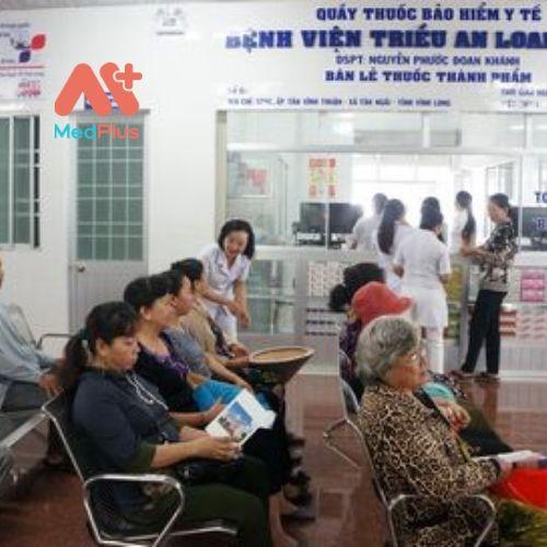 Bệnh nhân rất tin tưởng khi đến thăm khám tại bệnh viện