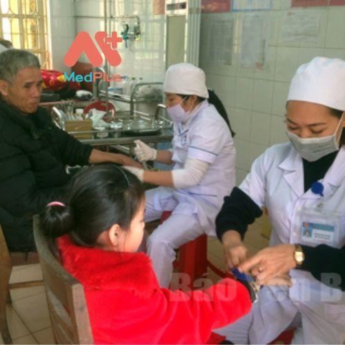 Bệnh nhân rất tin tưởng khi đến thăm khám tại Trung tâm y tế huyện Yên Bình