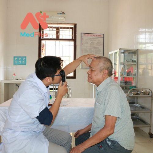 Bệnh nhân rất tin tưởng khi đến thăm khám tại TTYT Huyện Ứng Hòa