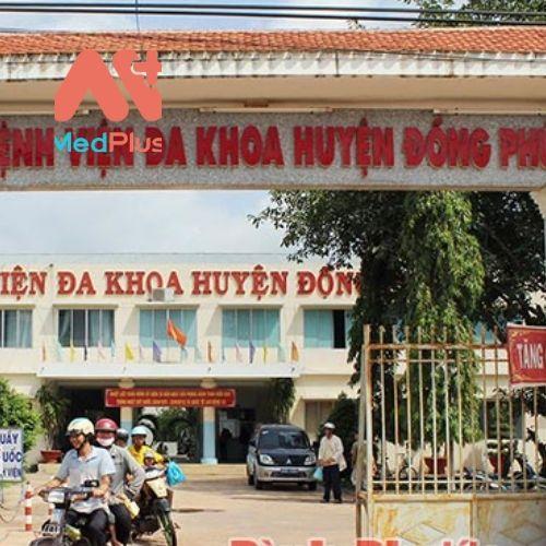 Bệnh viện đa khoa huyện Đồng Phú nay là Trung tâm Y tế huyện Đồng Phú