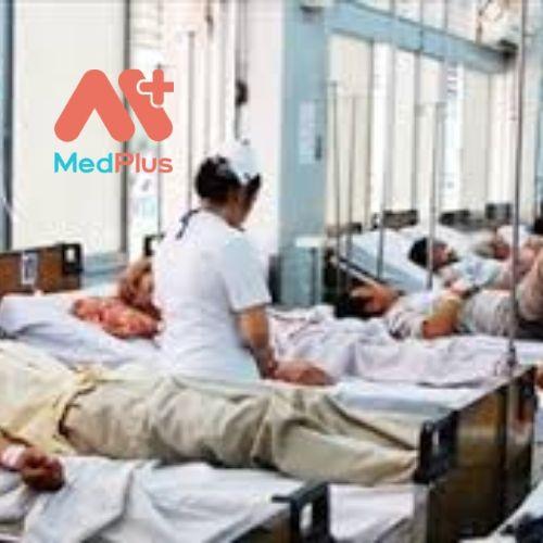 Bệnh viện được rất nhiều bệnh đến để điều trị