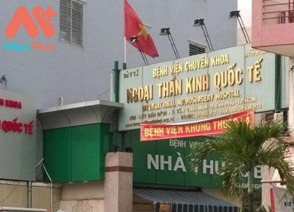 Bệnh viện chuyên khoa Ngoại thần kinh Quốc tế quận Tân Phú