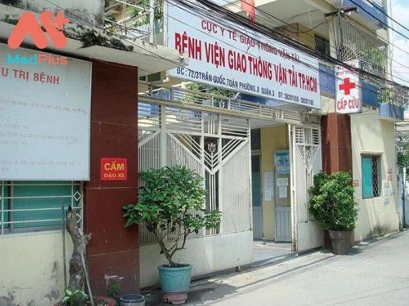 Bệnh viện Giao Thông Vận Tải Tp. Hồ Chí Minh là bệnh viện trực thuộc Cục y tế giao thông vận tải