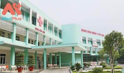 Bệnh viện Quân y 175 với đầy đủ chuyên khoa khám hệ hô hấp